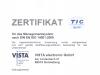 ISO Zertifikat 14001 2015